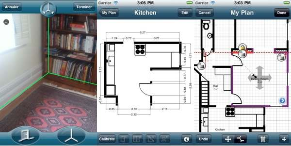 Construye los planos de tu casa con tu iphone en magicplan for App para hacer planos