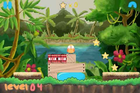 Juego Gratis Para Iphone E Ipad De Aves Hiyoko Jungle