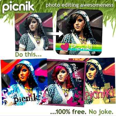 Editor de fotos picnik gratis 13