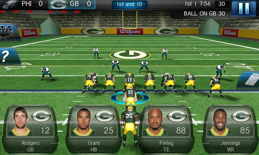 nfl pro 2012 gameloft android