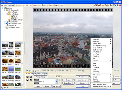 Photoscape software gratuito de edicion de fotografias