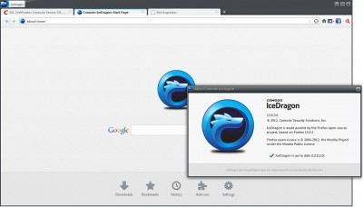 browser Comodo Ice Dragon