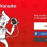 cantar con red karaoke